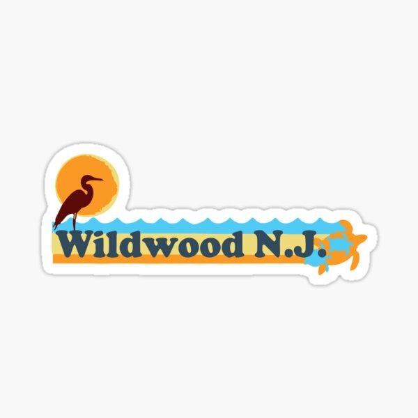 Wildwood - New Jersey. Sticker