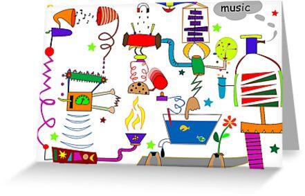 Incredible music machine by Laschon Robert Paul