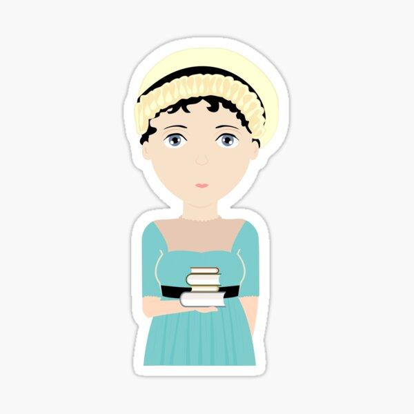 Jane Austen Pegatina