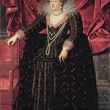 Frans Pourbus the Younger - Portrait of Marie de' Medici  by Geekimpact