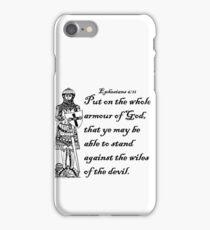 EPHESIANS 6:11  ARMOUR OF GOD iPhone Case/Skin