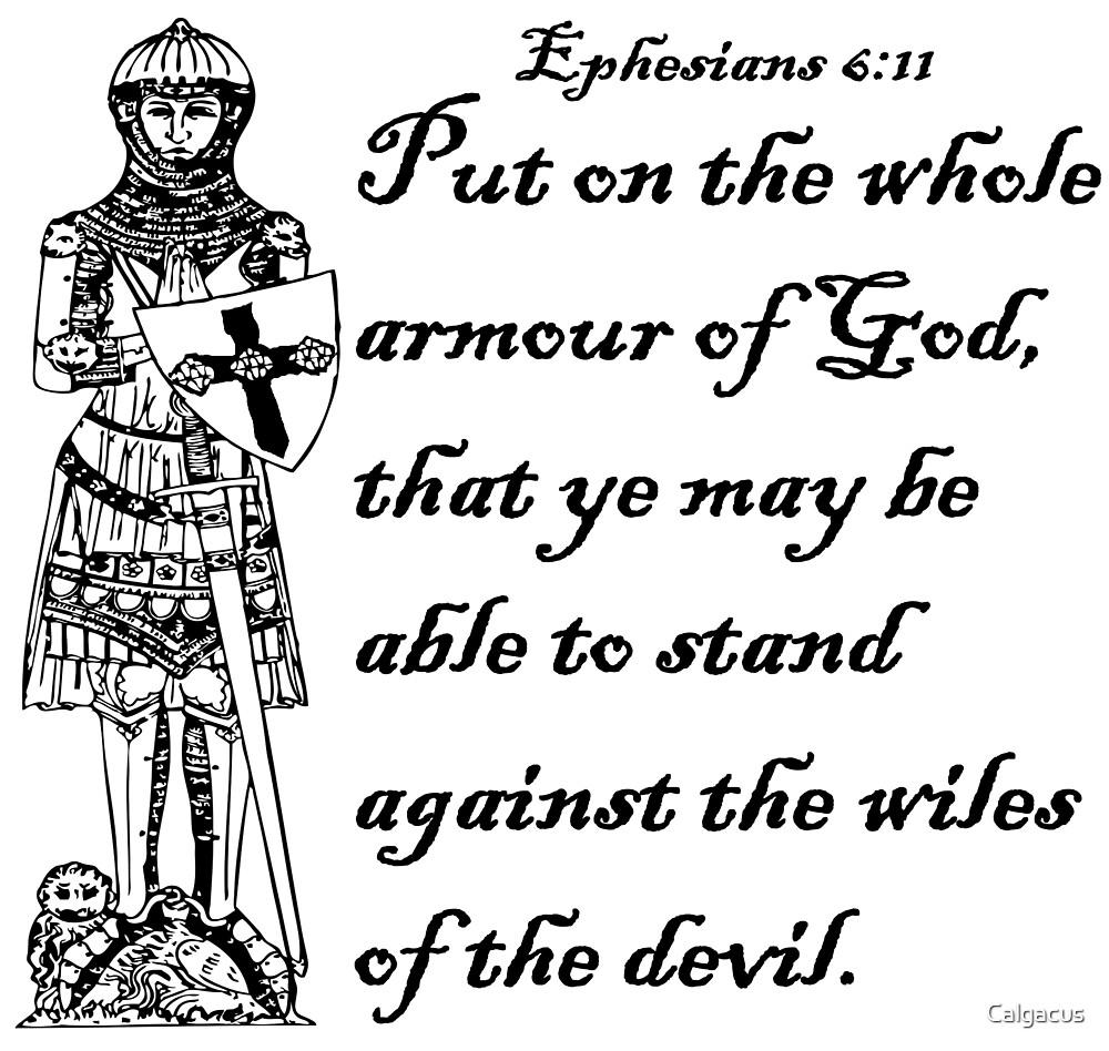 ephesians 6 11 armour of god