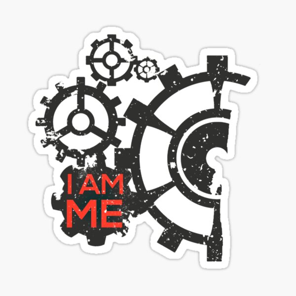 I am ME by TeeSnaps Sticker