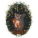 Beaver by Elsbet