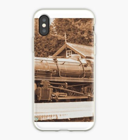 Steam past and present  iPhone Case