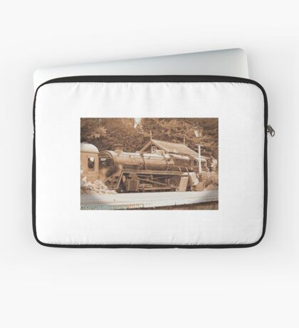 Steam past and present  Laptop Sleeve