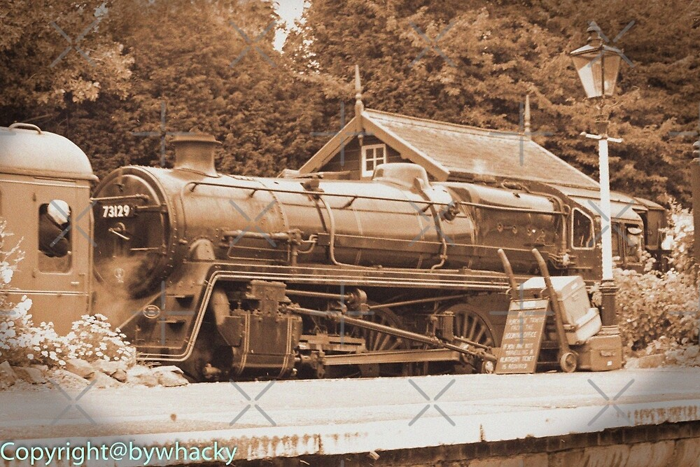 Steam past and present  by bywhacky