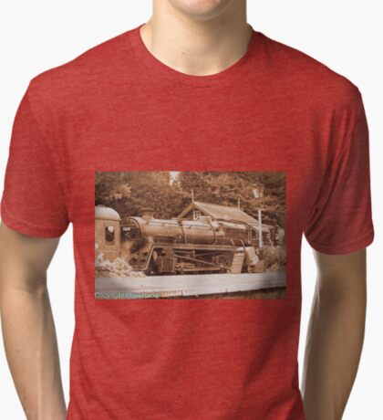 Steam past and present  Tri-blend T-Shirt