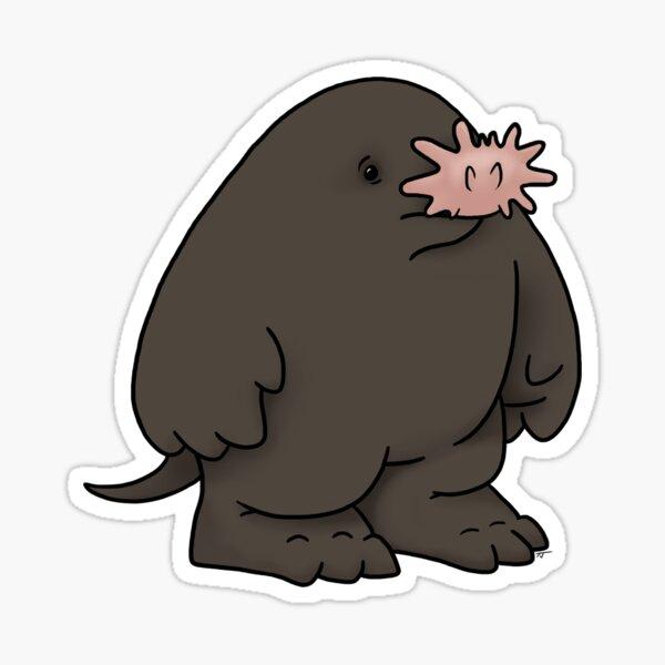 Star Nosed Mole Sticker