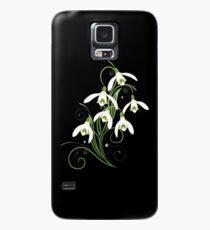 Schneeglöckchen Frühling Blumen Spring Flowers Hülle & Skin für Samsung Galaxy
