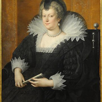 Marie de' Medici, 1616, by Frans Pourbus the Younger  by Geekimpact