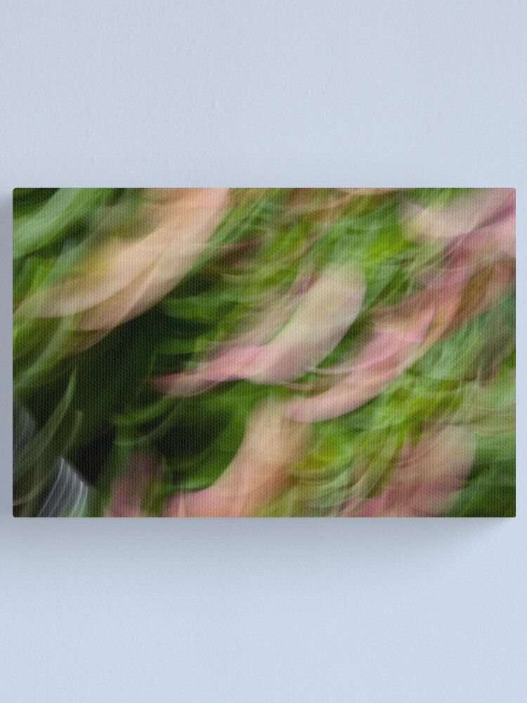 Alternate view of Pansies Canvas Print