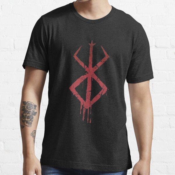 Símbolo de la marca de sacrificio de Berserk Camiseta esencial
