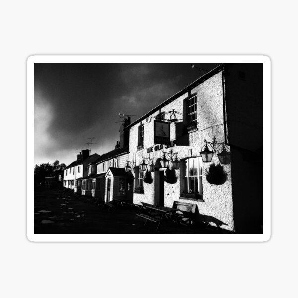Old Ship Inn, Heybridge - Mono Sticker