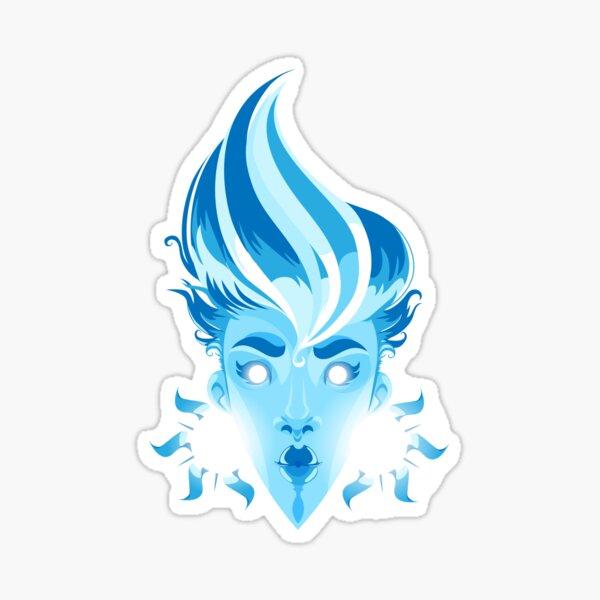 Blue Sunshine Sticker