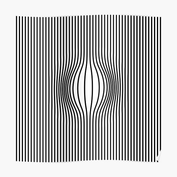 Black Lines Poster