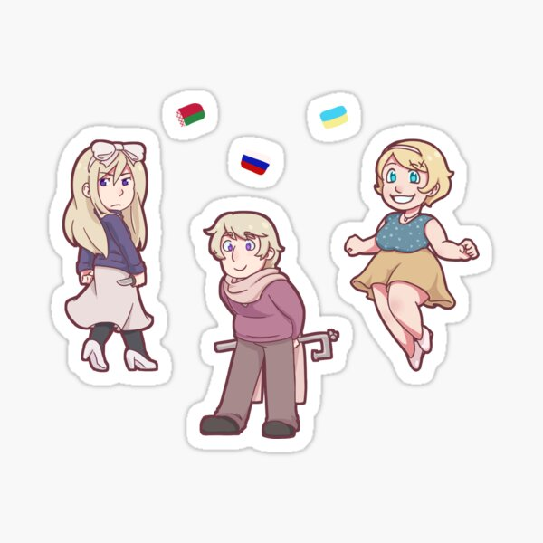 Kievan Rus Family Sticker