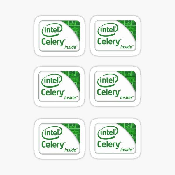 Intel Celery Sticker