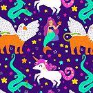 Fantasy pattern by mjdaluz