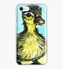Cute baby duckling iPhone Case/Skin