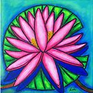Three Pink Gems  by LisaLorenz