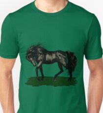 Ebony .. black stallion Unisex T-Shirt