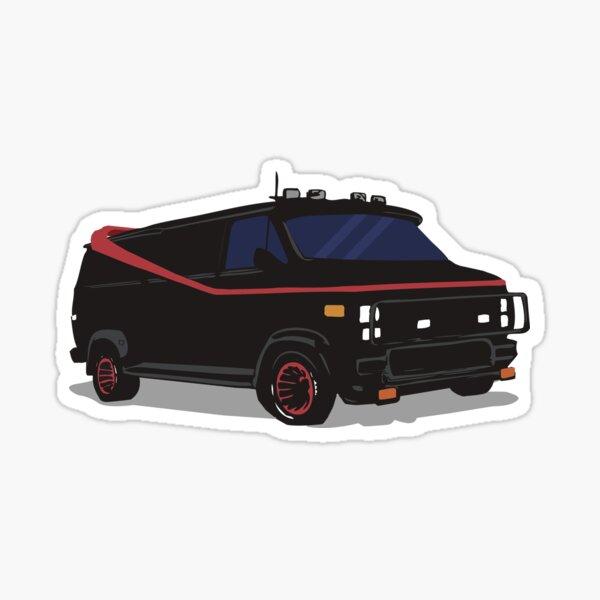 La fourgonnette A-Team Sticker