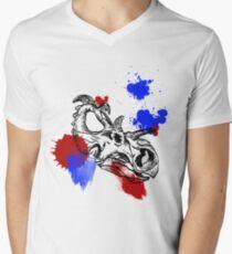 triceratops Men's V-Neck T-Shirt