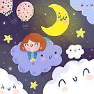 Entre nubes y estrellas by mjdaluz