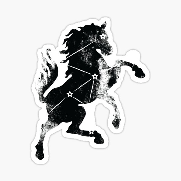 ES Birthsigns: The Steed Sticker