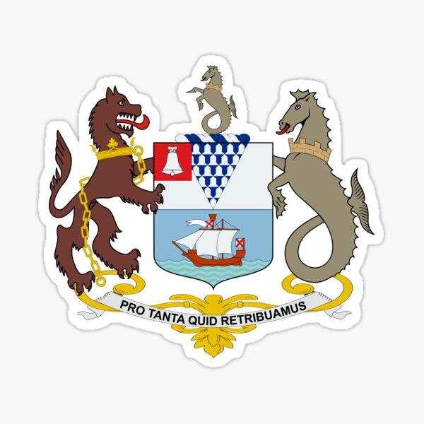 Coat of Arms of Belfast  Sticker