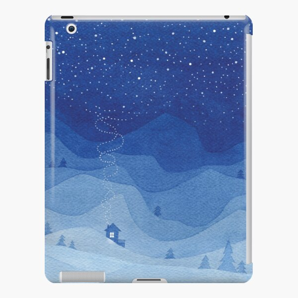 Stars factory, blue iPad Snap Case