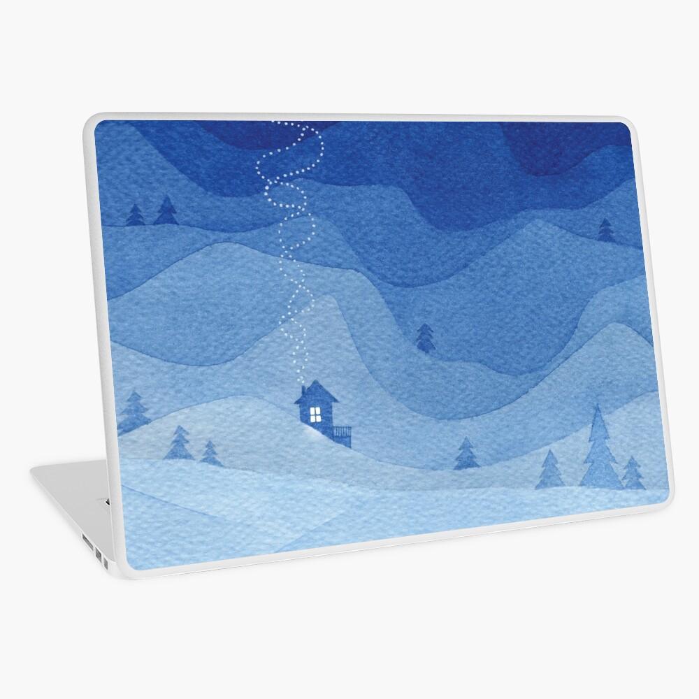 Stars factory, blue Laptop Skin