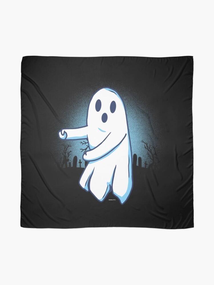 Alternative Ansicht von Ghost floss Halloween gift Tuch