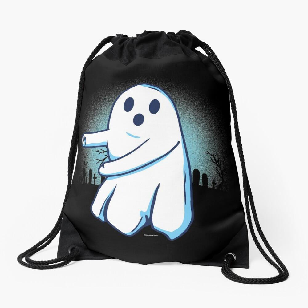 Ghost floss Halloween gift Turnbeutel