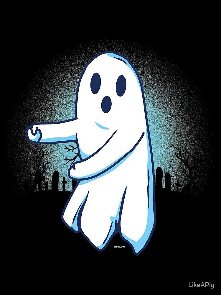 Ghost floss Halloween gift von LikeAPig