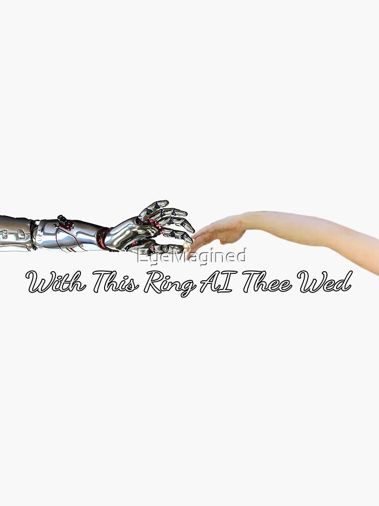AI Wedding by EyeMagined