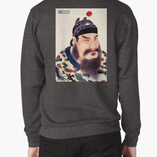 Emperor of China #portrait, #lid, #people, #adult, veil, beard, mustache, cap, one, illustration Pullover Sweatshirt