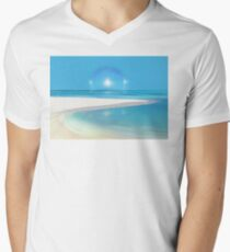 Postcard from Crane Bay in Barbados, Caribbean T-Shirt