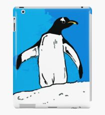 Penguin with blue sky iPad Case/Skin