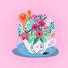 Floral tea by mjdaluz