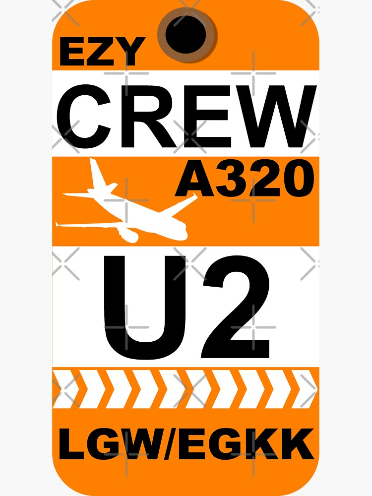 EZY Airbus A320 Crew London Gatwick by AvGeekCentral