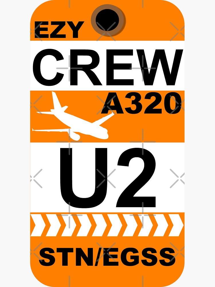 EZY Airbus A320 Crew London Stansted by AvGeekCentral