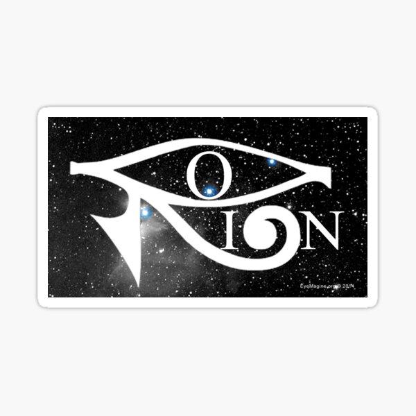 Orion & Eye of Horus Sticker