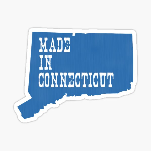 Made In Connecticut Sticker