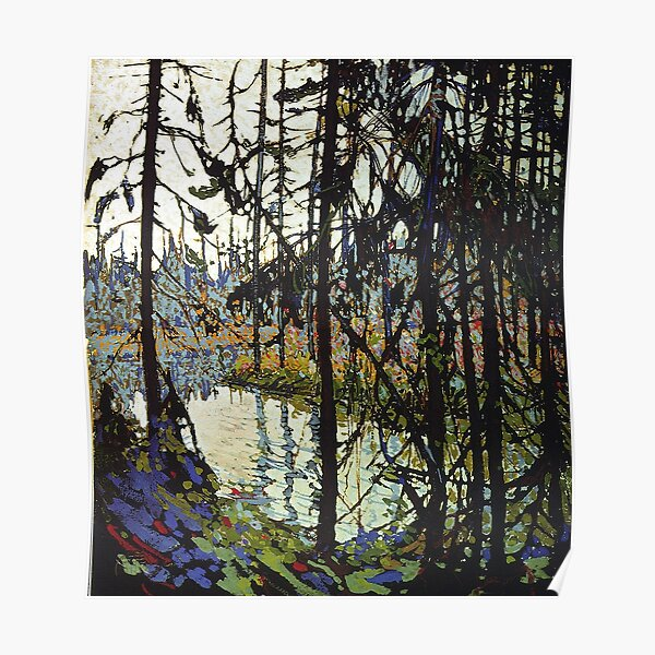 Tom Thomson - Northern River Poster