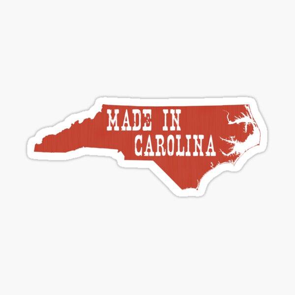 Made in North Carolina Sticker