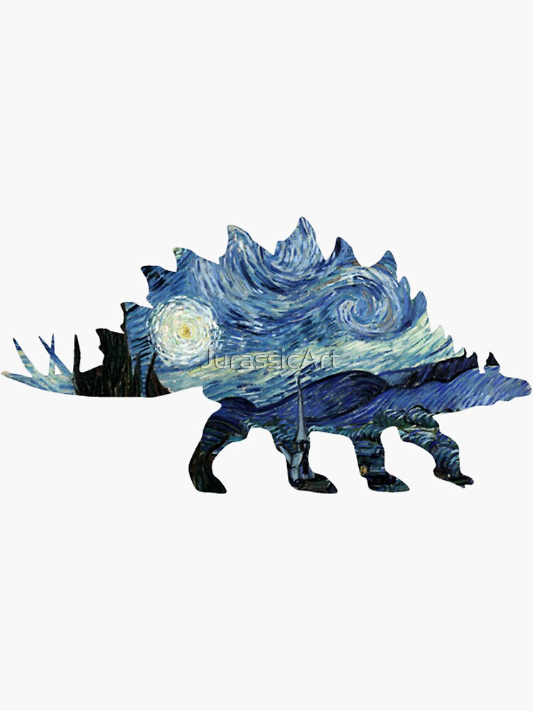 VanGogh-o-Saurus de JurassicArt