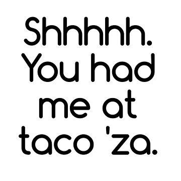 Pizza lovers - taco 'za by zenZaPizzeria