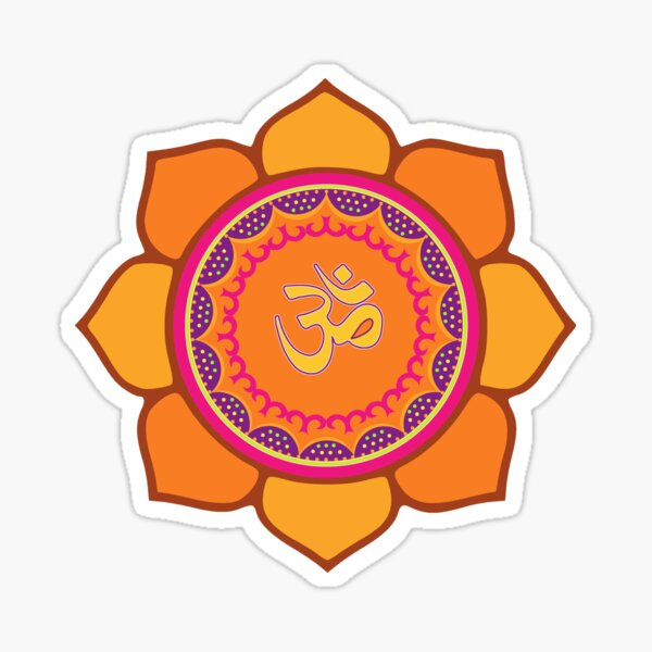 Om Symbol Sticker Photo
